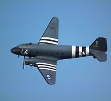 Douglas C-47 by Andy Jordan