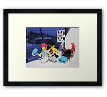 Pirate Practice: Painting Framed Print