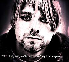Kurt Cobain by Jordiedm