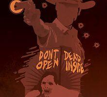 The Walking Dead Satirical Fan Art - Rick 8x10 by Carl Huber