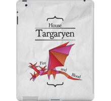 House Targaryen - Stained Glass iPad Case/Skin