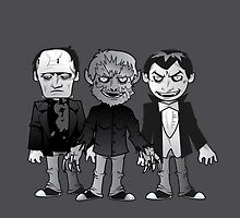 Classic Monsters by Marco D. Carrillo