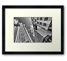 Angle Framed Print