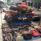 New York Handbag On Sale by Nancy Badillo