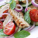 Chicken, Cucumber and Mint Salad by Franz Diegruber