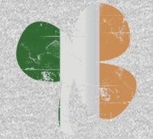 Vintage Irish Flag Clover St Patricks Day Kids Clothes