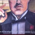 Godfather Drawing 2 by Melissa Goza