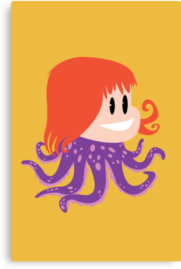 Octopus Girl by Marco D. Carrillo
