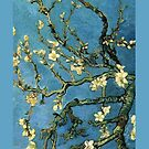Van Gogh Blossoming Almond Tree iPhone cover by jlerner