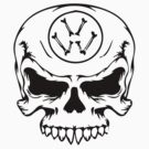 vw skull T-Shirts & Hoodies by iber