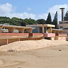 Orient Beach Where they kept the Deck Chairs by Eldon Mason
