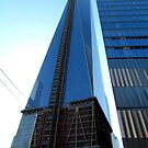 Almost done, New World Trade Center - NYC by Alberto  DeJesus