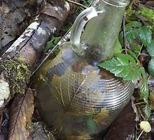 Old Glass Jar by TaylorKorynn