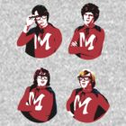 Monkees Monkeemen shirt by juliealberti