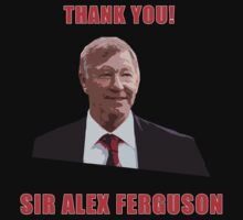 Thank you Alex Ferguson by tappers24