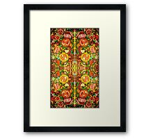 Charldia's Retro Jungle Framed Print