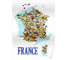 Tourists Guide to France Poster