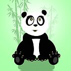 Panda Girl - Green by Adamzworld