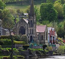 Llangollen Methodist Church by Yampimon
