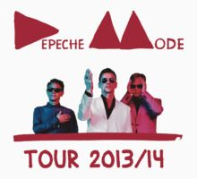 Depeche Mode Tour 2013-14 by AimLamb