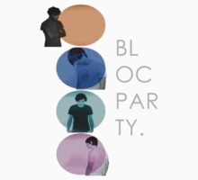 BLOC PARTY BANQUET by SamWolfDesign