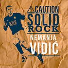 Vidic by terrydude