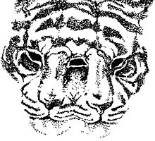 Three Eyed Two Headed Tiger by AvrilHodson