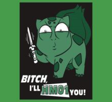 Bulbasaur Pokemon HM01 Cut You Shirt by cupcakewaffles