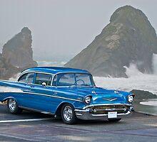 1957 Chevrolet F.I. Coupe by DaveKoontz