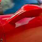 Ferrari 458 Abstract by Mark Battista