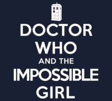 Doctor Who and the Impossible Girl (Dark Shirts) by oawan