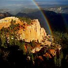 Rainbow over Bryce Canyon by Eva Kato