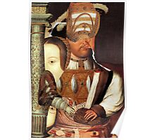 Henry the Eight with Anne Boleyn. Poster