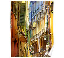 The Old Town Of Nice Poster