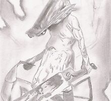 The Pyramid Head by bluemagic