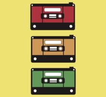 Traffic Light Cassette by LucieDesigns