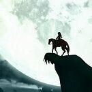 Moonlit - iPhone Case Legend of Zelda by squidkid