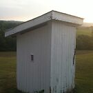 Wells Tannery, PA Outhouse in Color by Kimberly Scott