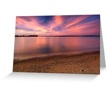 Serenity II, Leech Lake Greeting Card
