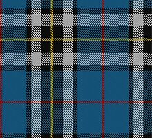 10005 Thompson/Thomson/MacTavish Dress Blue Tartan Fabric Print Ipad Case by Detnecs2013