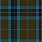10006 Thompson-Thomson-MacTavish Hunting Tartan Fabric Print Iphone Case by Detnecs2013
