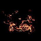 Shrine of Remembrance - Eternal Flame in flight by KittieEmpire