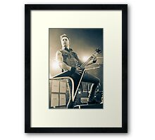 Matt Tuck of Bullet for My Valentine Framed Print