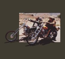 Easy rider off your t shirt. by BungleThreads