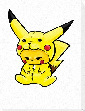 Pikachu dressed as Pikachu by Trust50