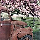 The Old Truck And The Crab Apple by Edward Fielding