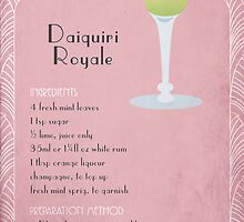 Daiquiri Royale Cocktail Recipe by lisa86f