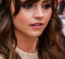 Jenna Louise Coleman (BAFTA Television Awards) by Paul Bird