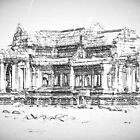 Temple Sketch by Adam  Hurley