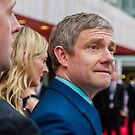 Martin Freeman (BAFTA Television Awards) 2 by Paul Bird